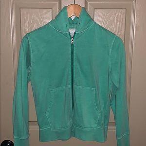 Jcrew boys size 12 green hoodie